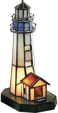 #lighthouse #tiffanyglass #kidsroom $67.85 lumenarea.com