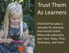 """""""Let Them Play Poster"""" lovely! Preschool Quotes, Teaching Quotes, Preschool Classroom, Teaching Kids, Kindergarten, Play Based Learning, Learning Through Play, Early Learning, Learning Stories"""