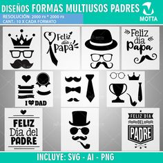 Vectors for cutting and stamping T-shirts, diaries, balloons, glass-sublimation template, sublimatio Fathers Day Crafts, Happy Fathers Day, Fathers Day Pictures, Sublimation Blanks, Father's Day Diy, Freebies, Couple Tshirts, Balloons, Cricut