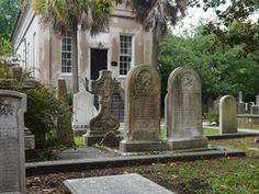 The most haunted places in Charleston. We went on our honeymoon there. It's a beautiful city with an old magic to it.