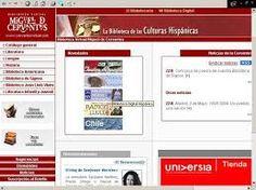 Biblioteca Virtual Miguel de Cervantes da Universidade de Alicante-Espanha.  http://www.cervantesvirtual.com/