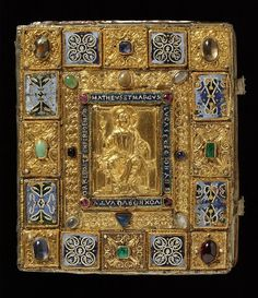 The Sion Gospels Book Cover, Germany (Trier?), ca. 1140-1150, V&A Museum