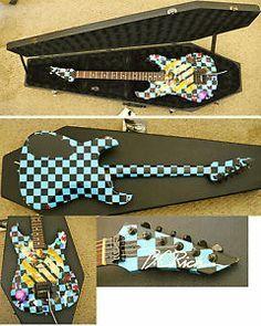 Vintage B C Rich Neck thru Guitar Handmade in USA