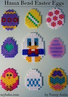 Hama Bead Easter Eggs | Nanny Anita | My Baba