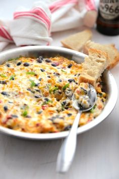 Roasted Southwest Veggie Dip - www.countrycleaver.com