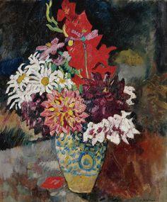 Vase with Flowers. Louis Valtat