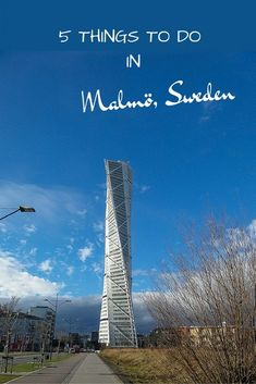 Malmö is, after Stockholm and Gothenburg, the third largest city in Sweden. The city became very popular thanks to The Bridge, a Nordic Noir series about and around The Öresund Bridge. - What to do in Malmö, Sweden