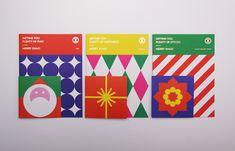Ken Lo on Behance Packaging Design, Branding Design, Leaflet Design, Brochure Design Inspiration, Christmas Poster, Christmas Characters, Grafik Design, Merry Xmas, Graphic Design Illustration
