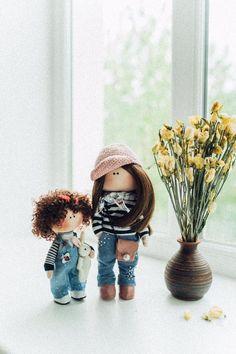 DesignPuppe, HandMade, Art Deko Doll, Einzigartige  Geburtstag, Muttertag, Jubileum, Mutter Tochter Etsy, Boots, Winter, Gift, Design, Fashion, Daughter, Mother's Day, Unique