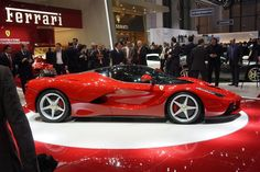 2014 Ferrari LaFerrari---- This one is completely electric!!! Literally!!!