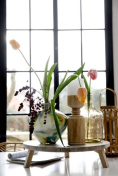 "These wonderful vases are from our feature ""Matter of the Heart"" Decor, Home Decor, Vase, Glass Vase, Glass"