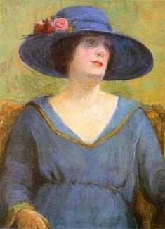 Blue Hat, 1922  Tarsila do Amaral