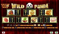 Wild Panda online slot machine pictures and slot feature list from NYX, play Wild Panda Slots for free. Panda Online, Wild Panda, Coin Values, Wild Ones, Casino Bonus, Slot Machine, Panda Bear, Nyx, Symbols