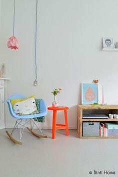 Pays-Bas / Un intérieur aux teintes pastel / Photo Binti Home /