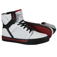 Produit en Promotion   Baskets Supra Enfant - Kids Skytop White/Black/Red