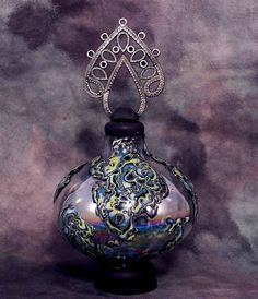 Magic  Potion Bottle Handmade Abstract por CovingtonCreations, $40.00