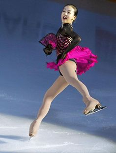 Mao Asada, who has been out of action for two months, will try to regain her form at the Japan nationals and then challenge for the Olympic gold medal.   KYODO PHOTO (300×396) http://www.japantimes.co.jp/sports/2009/12/24/more-sports/mao-looks-for-4th-straight-japan-title-after-long-break/#.VSVU7NysWSo
