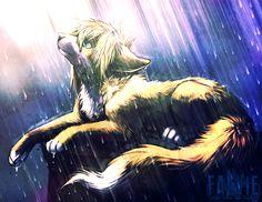 In the light and rain by falvie.deviantart.com on @deviantART
