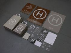 Helicopter Museum Rebranding by Craig Palmer, via Behance