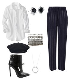 """""""Untitled #685"""" by mchlap on Polyvore featuring Joseph, Anthony Vaccarello, Element, Charlotte Russe and Blue Nile"""