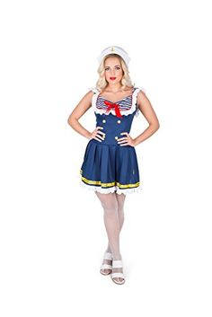 Karnival Women's Sassy Sailor Costume Set - Perfect for Halloween, Costume Party Accessory. Trick or Treating (M) #Sailor Halloween Costumes Sailor Halloween Costumes, Party Accessories, Trick Or Treat, Sassy, Cinderella, Disney Princess, Disney Characters, Party Supply Stores, Disney Princesses