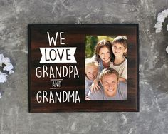 Gift for Grandparents Gift for Grandmother Gift for Grandfather Christmas Gifts for Mom for Dad Only the Best Parents