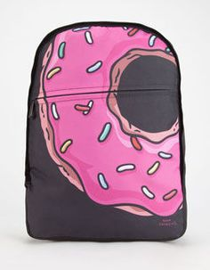 Neff X The Simpsons Big Donut Backpack Multi One Size For Men 26130195701 from Tilly's. Saved to 🍩 The Simpsons 🍩. Vans Backpack, Backpack Bags, Big Donuts, Doughnuts, Men's Backpacks, Art Bag, Kids Bags, Men's Bags, Fabric Bags