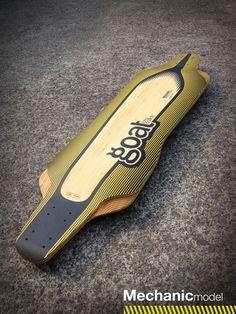 """Goat """"Mechanic"""", el nuevo modelo del primer prototipo. Una #tabla para #downhill y #freeride que nuestros riders Iván Dávila y Noelia Otegui probaron durante toda la temporada pasada 2012.:"""