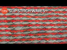 (82) Slip Stitch Waves | Creative Colorwork Knitting Tutorial with Faina Goberstein - YouTube