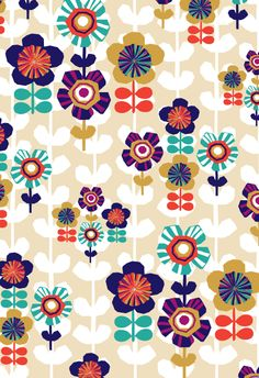 #retro #illustration surface pattern design