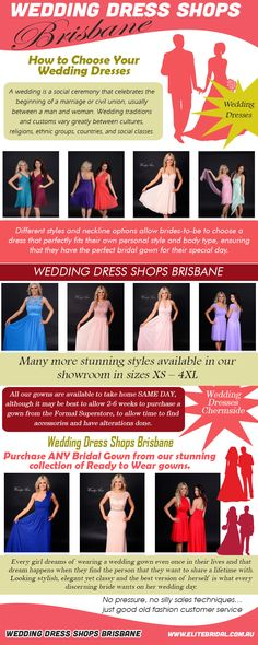 Check this link right here http://elitebridal.com.au/ for more information on Wedding Dresses. Depending on the formality of the occasion you do not have to insist on all Wedding Dresses being exactly the same style but they should 'match'. Again, it's very much a matter of how you want your wedding.
