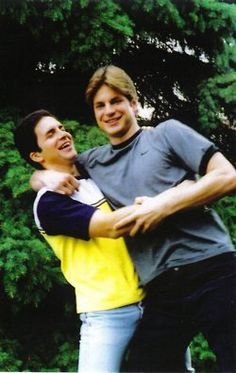 Mikey and Brian. Queer As Folk - I so miss this show!