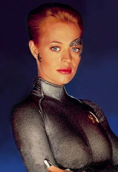 "Jeri Ryan as Seven of Nine from ""Star Trek: Voyager"""