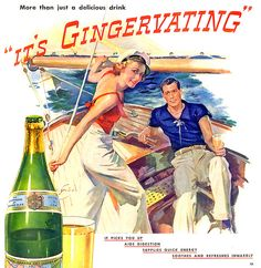 Canada Dry Ginger Ale Ad