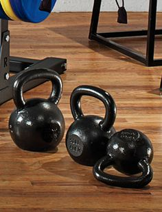 These embody the smarter training ideal of doing fewer exercises better. And while they are useful for only a few basic movements, like two-handed swings, overhead presses, and curls, they all benefit the body's core, the source of strength and control.
