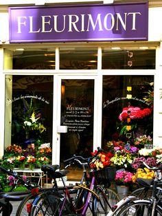 Flower shop ~ Paris