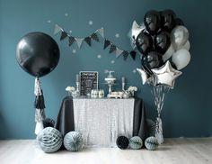 Новости Birthday Party Snacks, 40th Birthday Parties, Baby Party, 16th Birthday, Birthday Balloons, Baby Birthday, Simple Birthday Decorations, Festa Party, Space Party