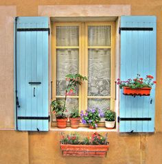 Decorative Window by Dave Mills Window Clipart, Building Windows, Recycled Door, Cottage Windows, Small Porches, Flower Window, Wall Colors, Color Walls, Old Cottage