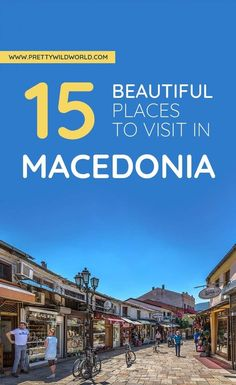 Traveling to North Macedonia? Be sure to add Ohrid to. Cool Places To Visit, Places To Travel, Travel Destinations, Travel Europe, European Travel, Travel Guides, Travel Tips, Ski Vacation, Travel