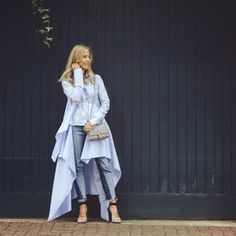 Palmer Harding, Shirt Style, Duster Coat, Street Style, Instagram Posts, Casual, How To Wear, Jackets, Shirts