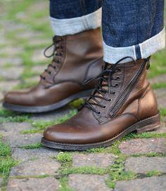 LAGOS CAMEL - Boots - Men BED|STU