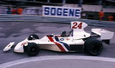 James Hunt, the Hesketh 308B and the Circuit de Monaco in 1975.