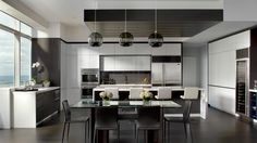 Nice, clean look in this kitchen.