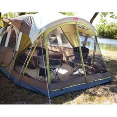 Coleman 10 Person WeatherMaster Screened Tent