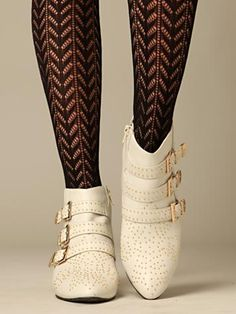 Northern Lights Boot at Free People Clothing Boutique: I've been staring at these Chloe knock-off boots for close to 3 months now--they're 50% off and I'm so tempted...maybe a post exam gift to myself?