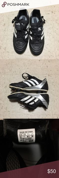 Women's Adidas Cleats Women's adidas cleats! Worn but still in great condition! Great for soccer, rugby, etc! Size 8.5! #adidas #shoes #cleats #sports #sporty #soccer #rugby Adidas Shoes Athletic Shoes