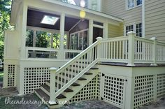 Back Porch Project - The Endearing Home