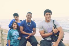 JahruneelRai with mum and dad and Byron LaMercy beach kzn South Africa Family Adventure, Queen Of Hearts, Bodybuilder, South Africa, Writer, Dads, Author, Couple Photos, Beach