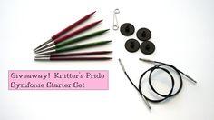 Giveaway! Knitter's Pride Symfonie Wood Interchangeable Starter Set on VeryPink