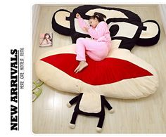Paul Frank Giant Bed